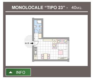 Monolocale Tipo 23