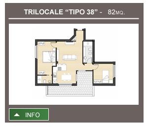 Trilocale Tipo 38